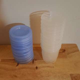 Avent storage containers/ cups