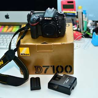 Nikon D7100 DSLR Body Only Camera