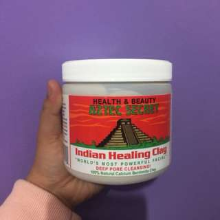 Authentic Aztec Indian Helaling Clay with Apple Cider Vinegar
