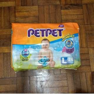 PetPet pampers murah L24