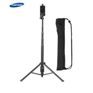 YUNTENG VCT-1688 2 in 1 Portable Tripod with Remote Shutter