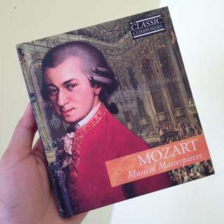 collectibles: Mozart musical masterpiece cd
