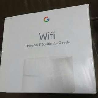 Google Wifi Mesh router (1 pc) Sealed BNIB