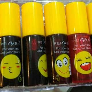 Liptint mini emoticon
