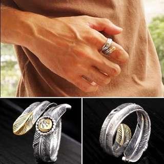 (預訂)印第安羽毛戒指