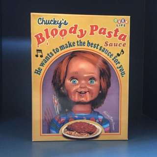 "Child Play2""Chuckie's Bloody Pasta Sauce!"