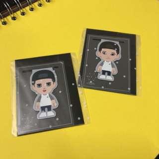 EXO CHEN DO 磁石書籤 $50/個 包郵