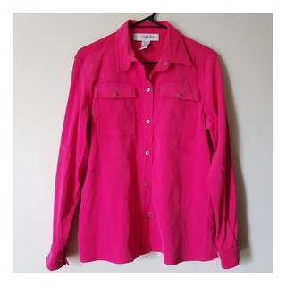 Sag Harbour Pink Shirt