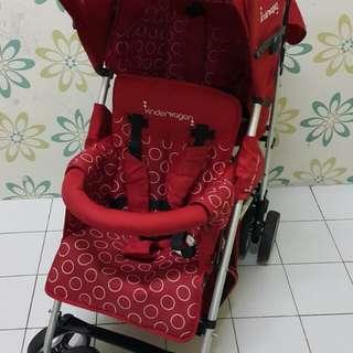 KinderWagon Tandem Stroller