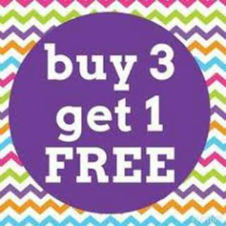 Buy 3 Stamps Get 1 Free