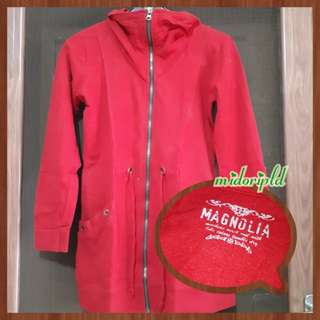 Magnolia Outer | Jacket - Red