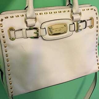 Michael Kors 白色 手挽袋 側背袋
