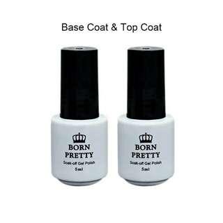 Born Pretty base and top coat