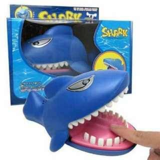 Funny Shark Dentist Toy Bite Hand Finger