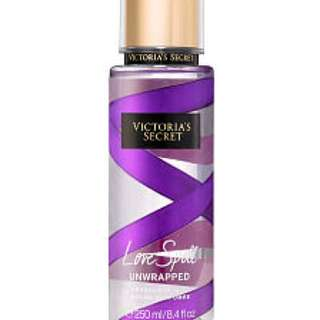 Authentic Victoria's Secret Fragrance Mist - Love Spell Unwrapped