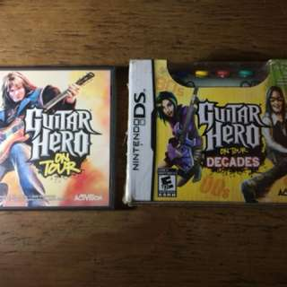 DS Guitar Hero On Tour Bundle