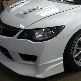 Js Racing Fd2r Front Lips