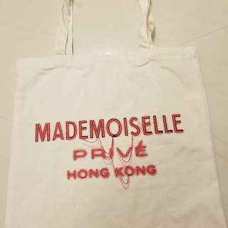 Chanel Mademoiselle Privé Hong Kong Exhibition - Tote Bag & Poster Limited Edition