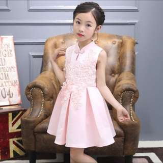 Pink cheongsam qipao Dress size 160
