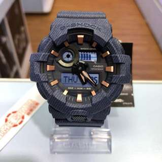 CASIO G-SHOCK GA-700DE-2A