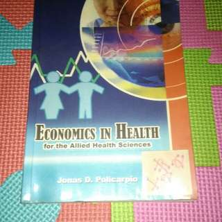 Economics In Health for the Allied Health Sciences 😉