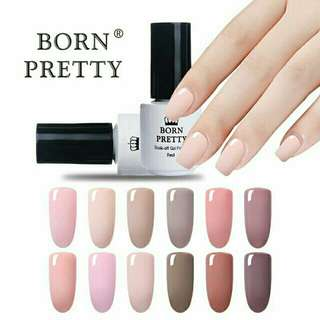 Born Pretty gel polish nude series