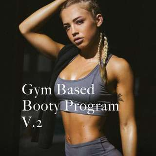Tammy Hembrow gym based booty guide v.2