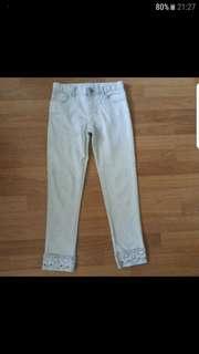Gap Girls' Super Skinny Light Greyish Denim Jeans