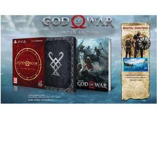 God of War Steelbook Edition