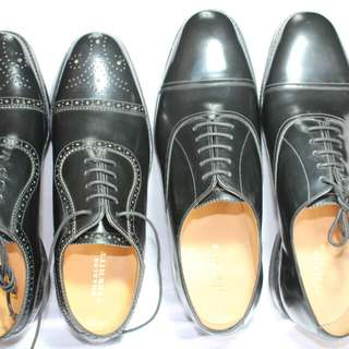 Charles Tyrwhitt mens leather shoes