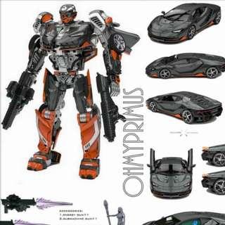 DX9 K3 La Hire - Transformers Movie Masterpiece MPM The Last Knight TLK Hot Rod