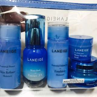Laneige Essential Care Trial Set
