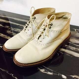 義大利真皮氣質短靴