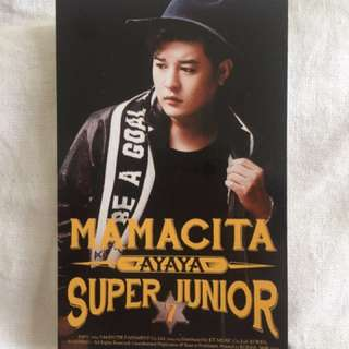 Super Junior Shindong photocard