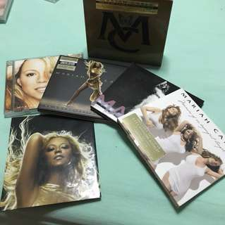 Mariah Carey Box Set - Charmbracelet, Emancipation of Mimi, E=MC2, Memoirs of an Imperfect Angel