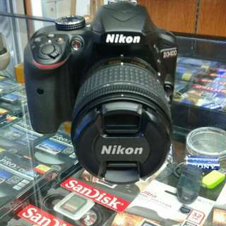 Nikon D3400 bisa cicilan proses cepat