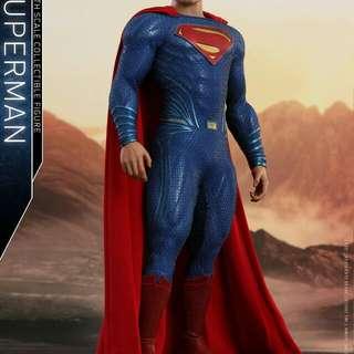 hottoys justice league superman