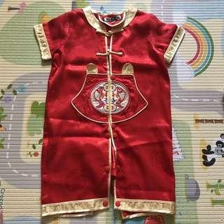 EUC baby boy cny Traditional Chinese Costume