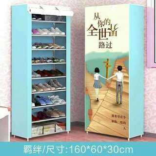 Single shoe rack