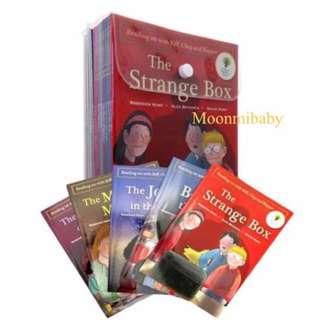 (預訂) 英國入口 一Oxford Reading Tree-Biff, Chip and Kipper: Time Chronicles Collection - 18 Books