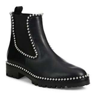Alexander Wang Spencer Studded Chelsea Boots chanel gucci prada balenciaga authentic