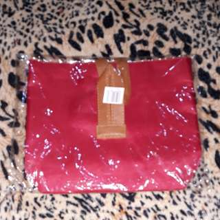 Red Make-up Pouch