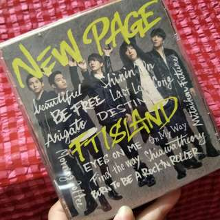 FT Island <New Page> Album
