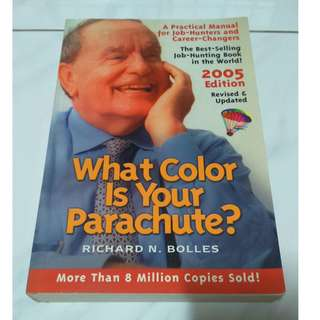 [Self Development Book!] What Color is Your Parachute?