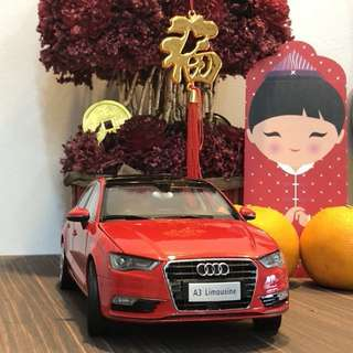 1/18 Audi A3 (Red)