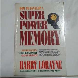 [Self Development Book!] How to Develop a Super Power Memory