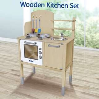 Friso wooden toy kitchen set ( brand new in box)