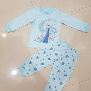 Frozen pajamas disney ori sz 1