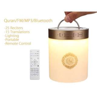TOUCH LAMP/BLUTOOTH QURAN SPEAKER