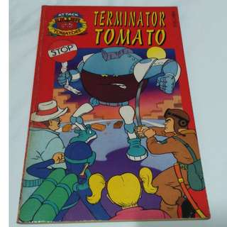 *Rare Collectible! * (Attack Of Killer Tomatoes' Book Series!)
